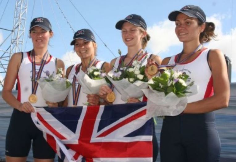 Women's quad - Gold