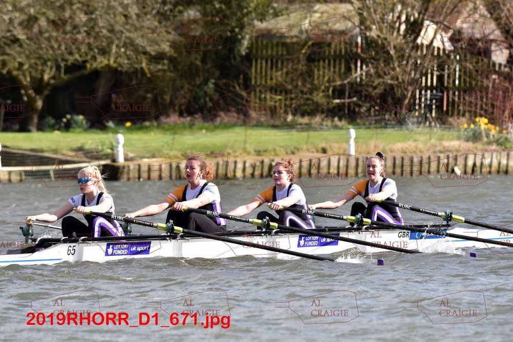 Women's Inter A: Franky, Maria, Amy and Sophie