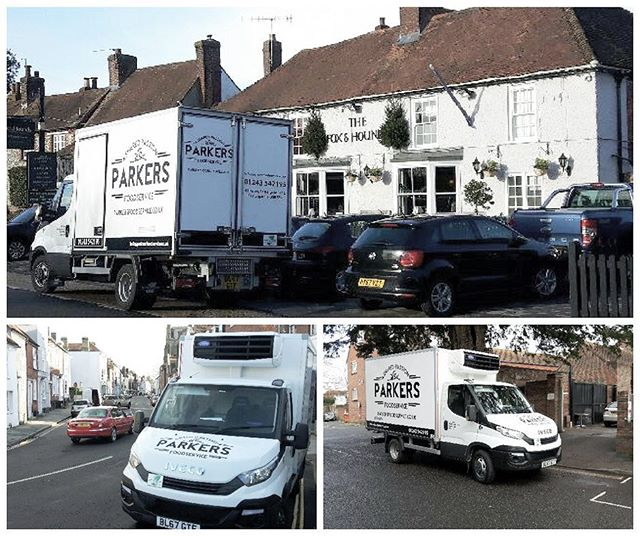 Keep an eye out for one of our Parker's vans around the south coast. We deliver from Worthing to Petersfield and everywhere in between. All of our vans have special refrigeration compartments to keep your products cool and fresh during delivery. #parkersfoodservice#samedaydelivery #nexydaydelivery #foodwholesale #foodie #chef #cheflife #westsussex #cateringsupplies #pubs #restaurant #foodlover #chichester #bognor #foxandhounds