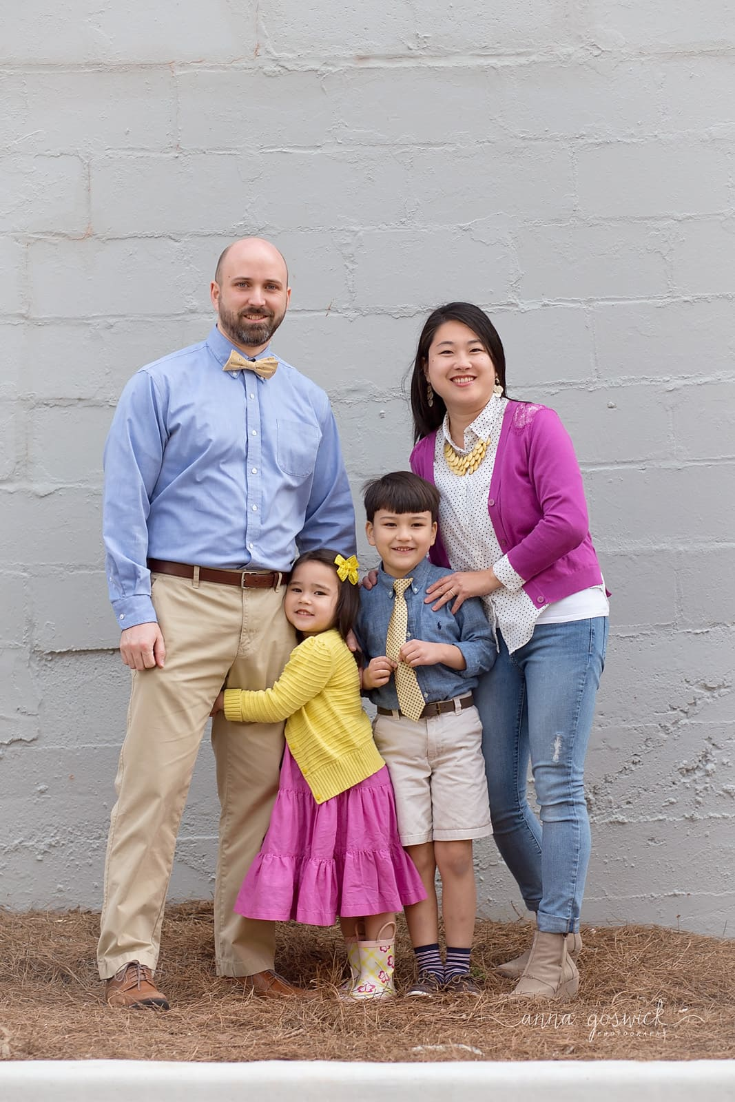 Family Photographer Downtown Woodstock GA