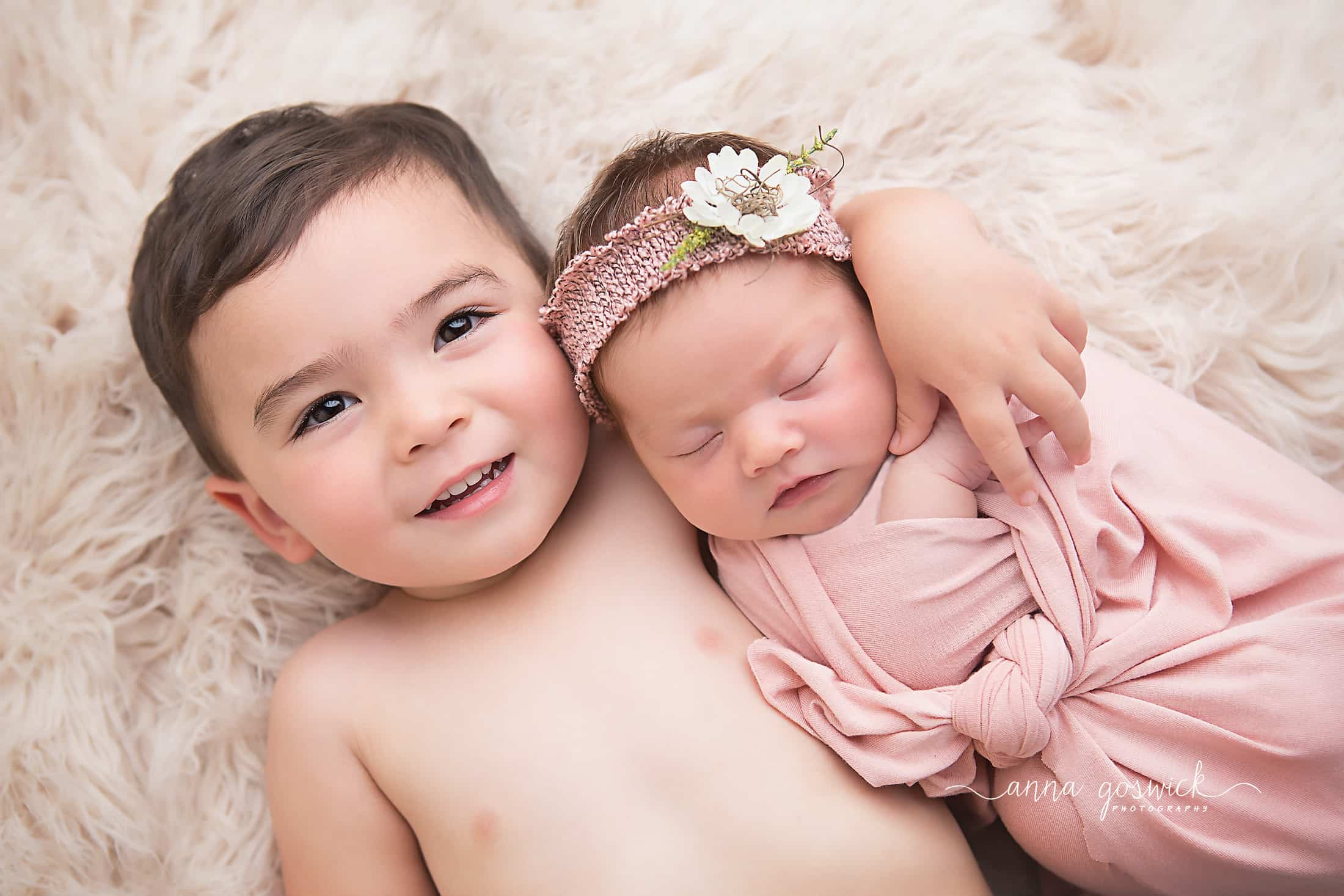 newborn photographer siblings atlanta canton woodstock cumming kennesaw