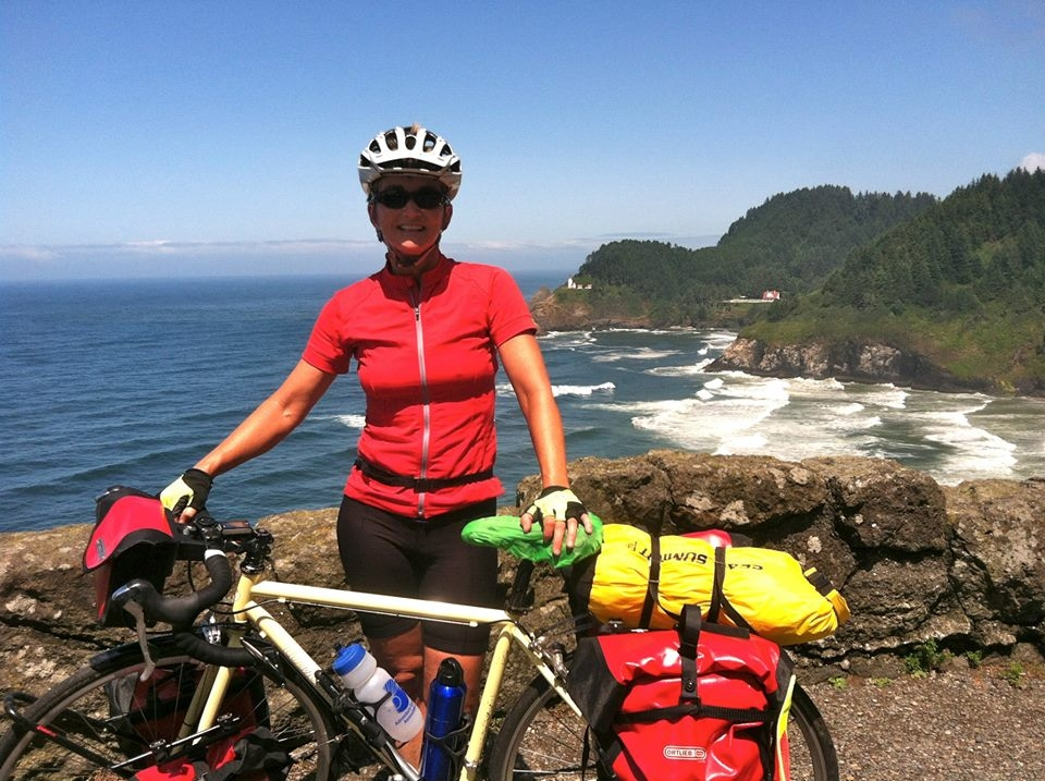 DamselTours , LLC was born from the excitement and desire of women I came into contact with while bike touring together. This happened over many years. I listened to women express their desires to go on a bike tour without men. The reasons are as diverse as these women are. A few examples I heard; my husband doesn't ride a bicycle, my girl friends and I like to have a girls trip every year, my partner stays home with our pets and sadly, I don't feel comfortable in a intimate setting with men I don't know because I was abused. #metoo  It took me a few years to decide I was ready to start my own business once again. I was a small business owner in Colorado for 20 years and swore I would never own my own company again. I can honestly say that creating and guiding bike tours for my own small bicycle touring company has been not only a lot of work, but a lot of fun!  I want to thank all of the women who have helped give me a push and courage needed to create DamselTours. My goal is to create affordable bike tours for women. Helping make dreams come true.