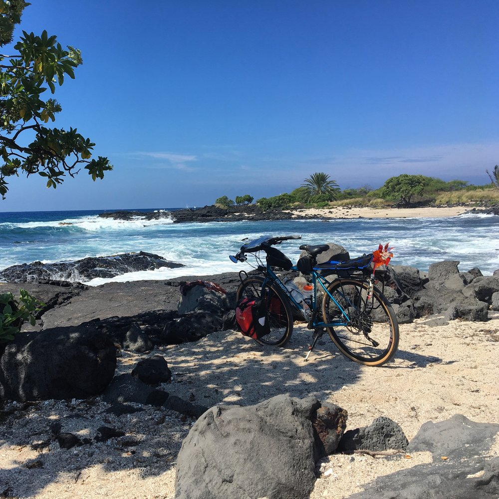 After This Bike Tour You Will Not Want To Leave The Big Island We Spend 12 Days Circumnavigating Of Hawaii By Bicycle