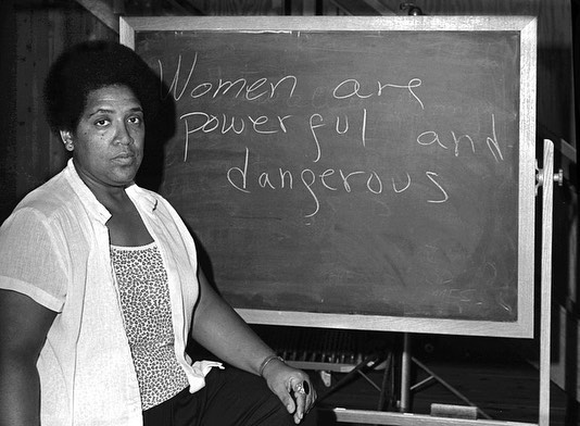 Happy international women's day! Belated because in our book every day is women's day. Sending you all some intersectional realness from the baddest Audre Lorde!!!