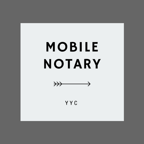 Mobile Notary Calgary — Services
