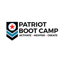 PATRIOT BOOT CAMP   501(c)(3) dedicated to equipping active duty military members, Veterans, and their spouses with tools to become successful technology entrepreneurs