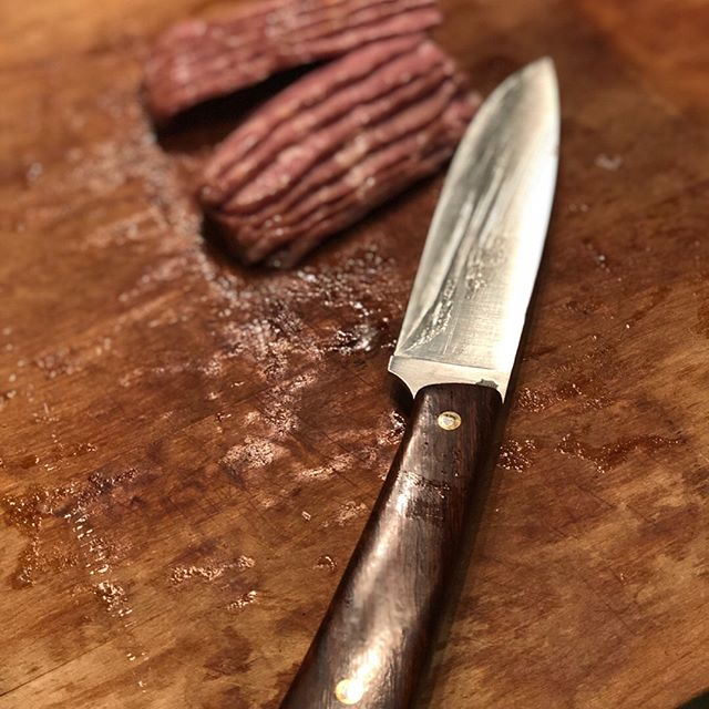 What kind of bacon is your go-to?  The @ltwrightknives sliced and diced this duck bacon from @the_butchers_markets. ⠀⠀⠀⠀⠀⠀⠀⠀⠀ ⠀⠀⠀⠀⠀⠀⠀⠀⠀ ⠀⠀⠀⠀⠀⠀⠀⠀⠀ 📸- @project.hi.vis ⠀⠀⠀⠀⠀⠀⠀⠀⠀ 💻- www.hivisoverland.com⠀⠀⠀⠀⠀⠀⠀⠀⠀ ⠀⠀⠀⠀⠀⠀⠀⠀⠀ Share with us how you stand out where it counts! Give us a tag @hi.vis.expeditions  and use #hivisexpeditions!⠀⠀⠀⠀⠀⠀⠀⠀⠀ ⠀⠀⠀⠀⠀⠀⠀⠀⠀ Sponsors: @renogysolar @midlandusa @ltwrightknives @gotyoursixcoffee @tekton_tools @titanfueltanks