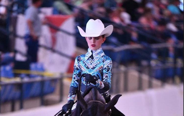 Details about  /Horse Show SHIRT LADIES Sun Ratcatcher Zip Mock Shirt Gold and Black Horses