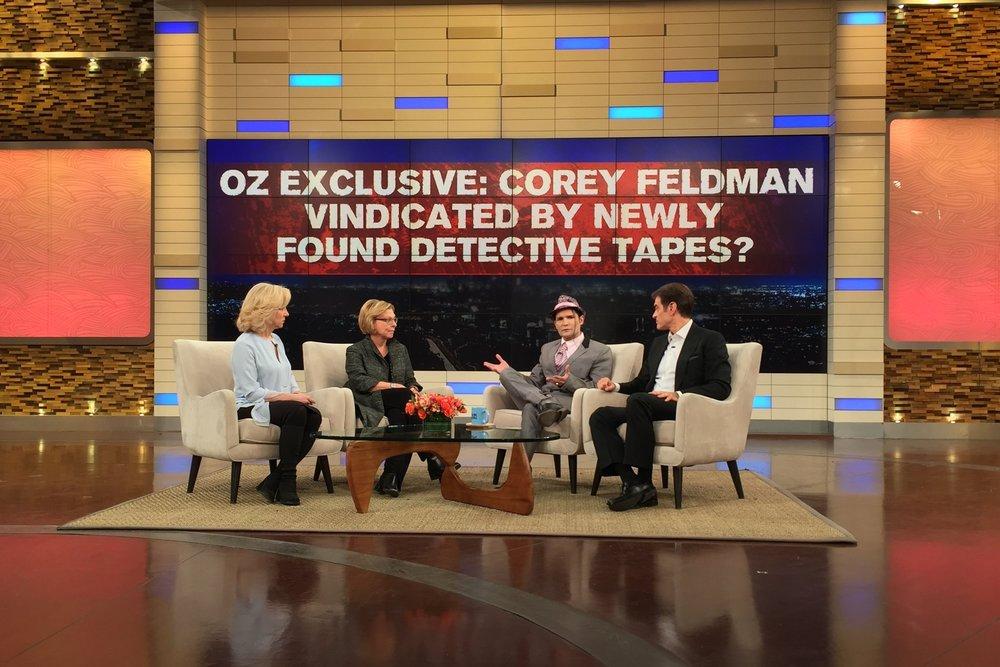 Corey Feldman, CHILD USA Ambassador for Justice, on Dr. Oz speaking to CHILD USA CEO, Marci Hamilton