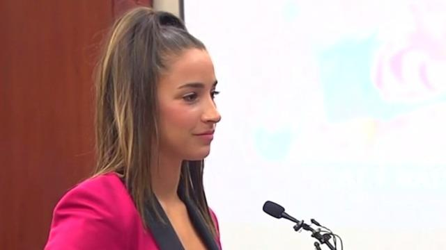 - 'It's Your Turn to Listen to Me.' Read Aly Raisman's Testimony at Larry Nassar's Sentencing.Mahita Gajanan | JAN. 19, 2018
