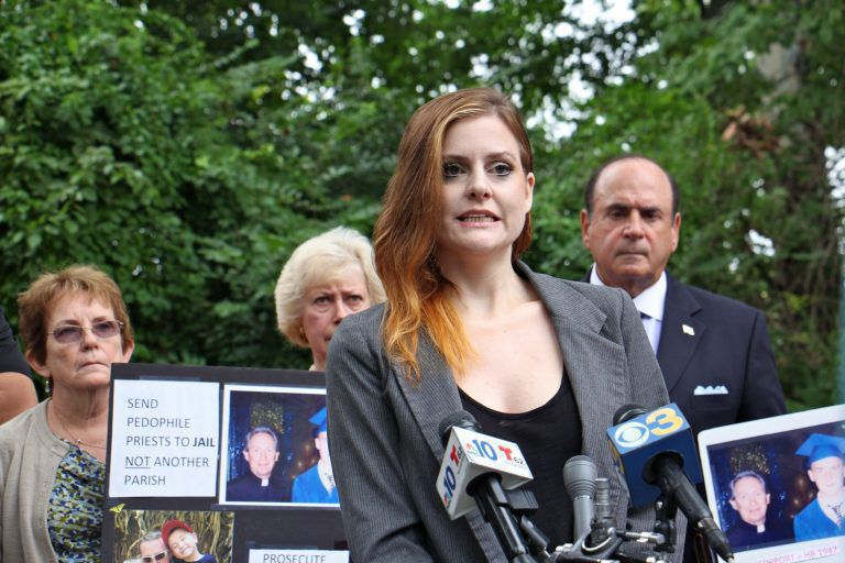 - Survivors of child sex abuse again push Pennsylvania to suspend statute of limitationsSara Hoover | September 13, 2018Pennsylvania's recent grand jury report on the sexual abuse of children in Catholic dioceses throughout state has renewed calls to change statute of limitation laws.Advocates and those sexually abused as children held a press conference Tuesday in Southeastern Pennsylvania urging lawmakers to provide a two-year window for past victims to file civil charges retroactively.