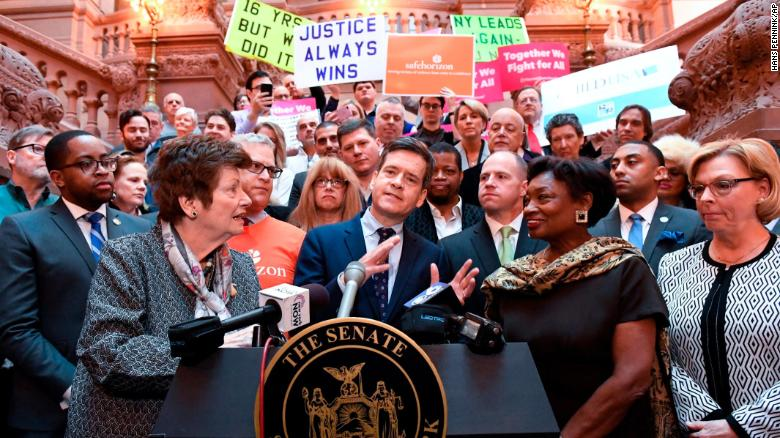 - New York passes Child Victims Act, allowing child sex abuse survivors to sue their abusersAugusta Anthony | January 28, 2019New York (CNN)The New York State Legislature passed a bill on Monday that will increase the statute of limitations for cases of child sexual abuse.The Child Victims Act will allow child victims to seek prosecution against their abuser until the age of 55 in civil cases, a significant increase from the previous limit of age 23. For criminal cases, victims can seek prosecution until they turn 28. The bill also includes a one-year window during which victims of any age or time limit can come forward to prosecute.