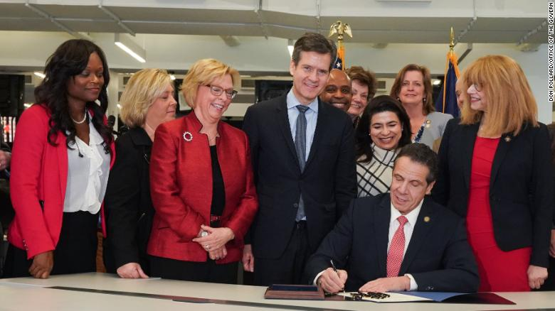 - 'This is society's way of saying we are sorry,' New York Governor tells survivors of sex abus e before signing Child Victims Act into lawElizabeth Joseph | February 14, 2019(CNN) With survivors of sexual abuse in attendance, New York Gov. Andrew Cuomo, flanked by lawmakers and victims' advocates, signed into law the Child Victims Act, ending a 13-year fight and decades of personal pain for many.