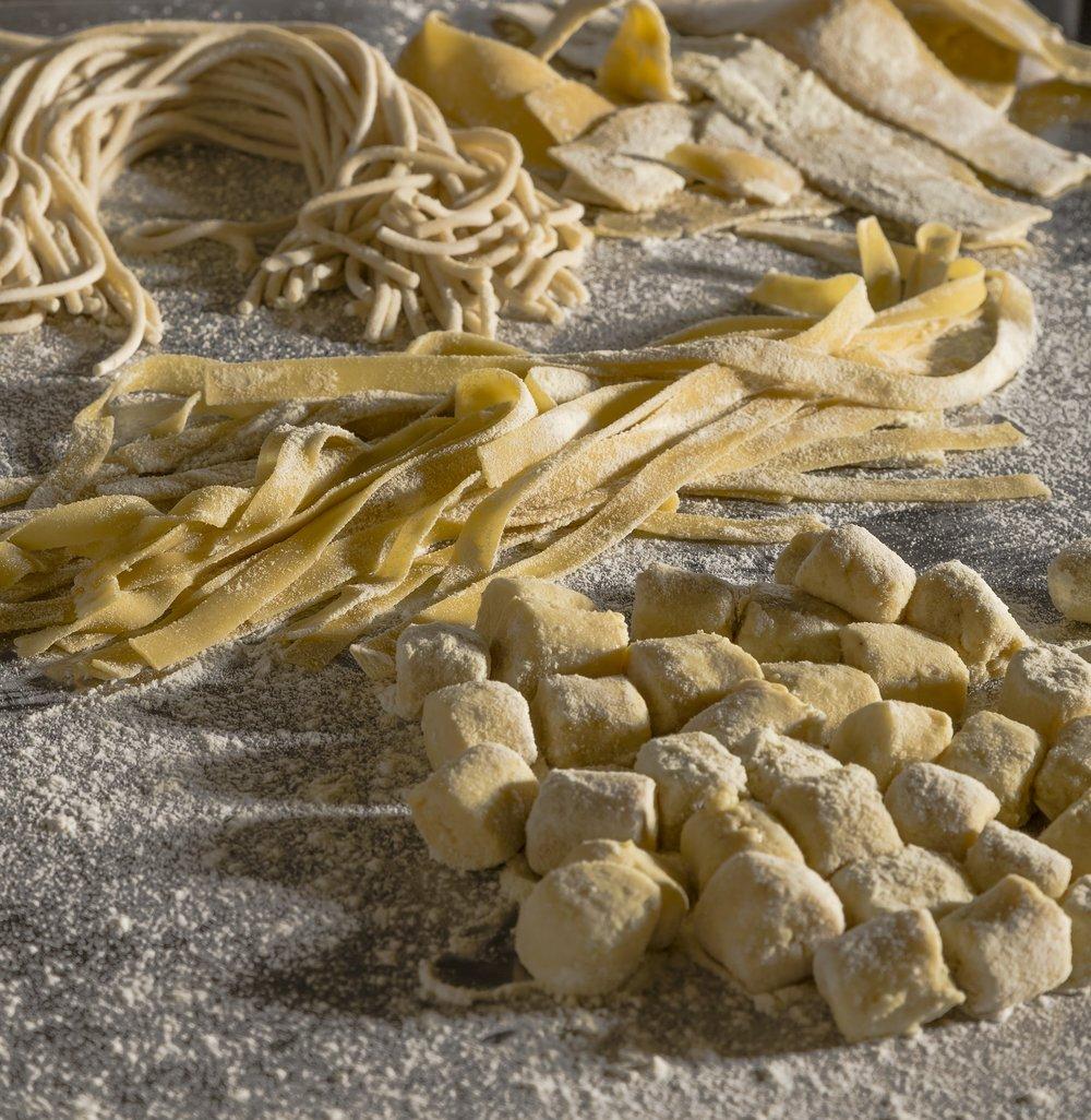 pasta fresca del nostro pastificio