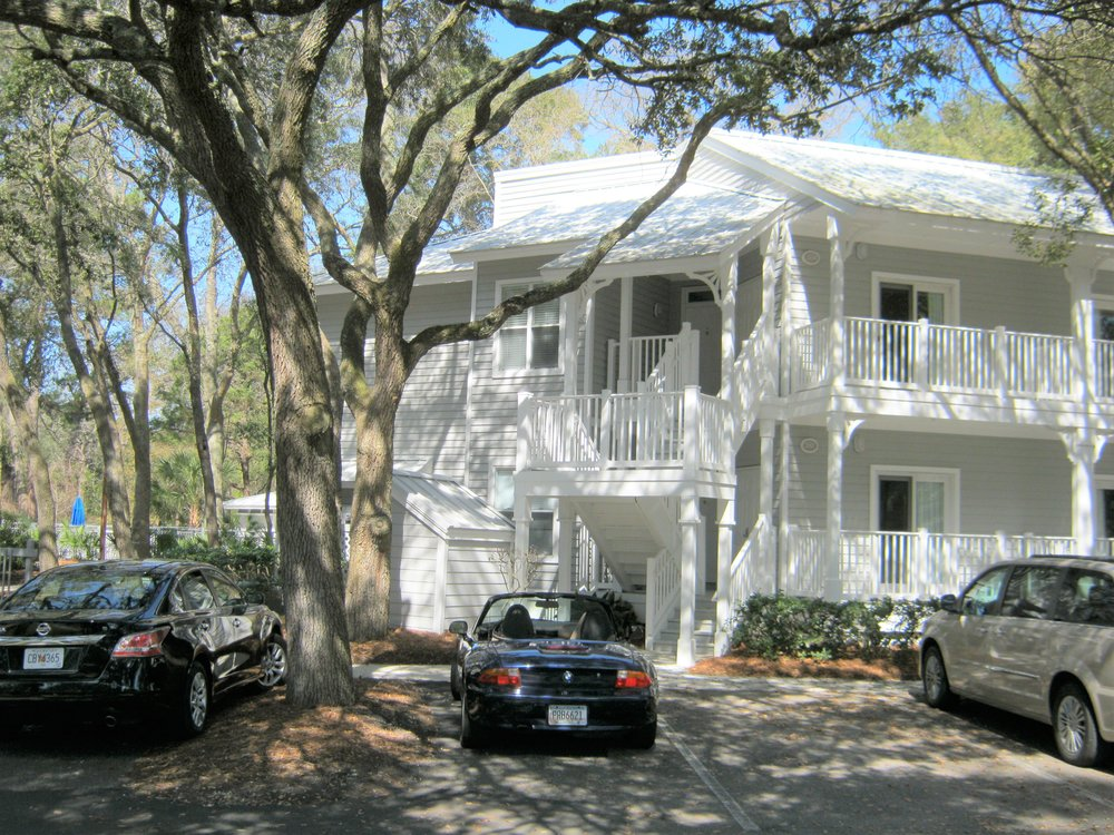 Equity Share $14,900.  Across the street from the beach!   quity Share ownership. Own 10 weeks per year on Hilton Head Island. Includes, Golf each day for 4 people. (plus Cart fees), Tennis, Shuttle to the beach. Stay two weeks, 5 times a year. Reciprocity with the Westin Resort. Walk to beach, bike to beach or take the shuttle. TEN weeks for 2018 are: March 4, 11; May 13, 20 July 22, 29 Sept 30, Oct 7, Dec 9, 16 Sunday to Sunday check in. http://hhimls.mlsmatrix.com/matrix/shared/lYYlpkL6Cf/14Wimbledon
