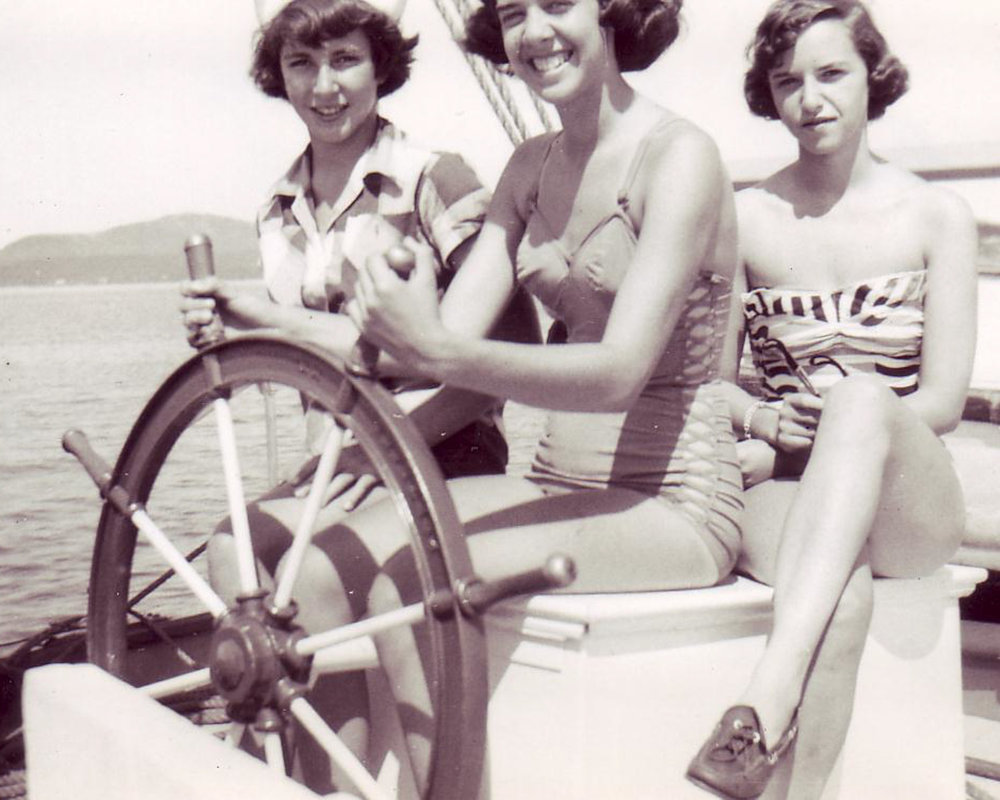 Camp girls, 1951