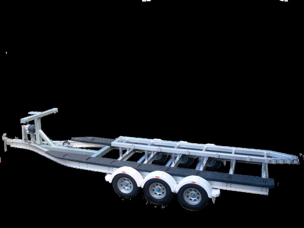 Magnum Tri-Axle Trailer by Quantum Catamarans