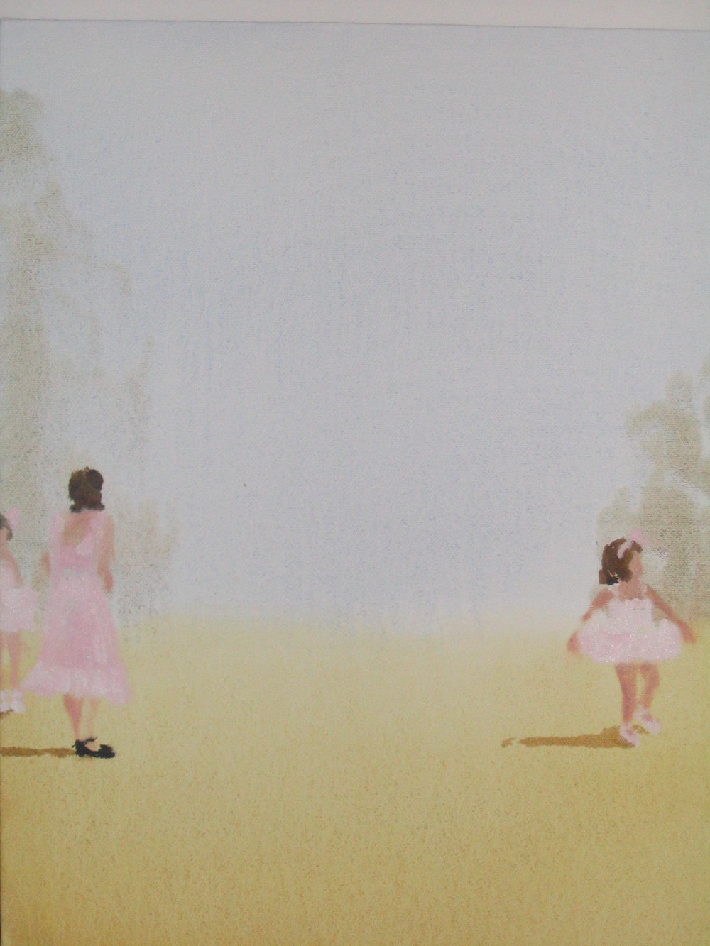 some sweet day (just before the ballet) 14 x 11 in. 2006