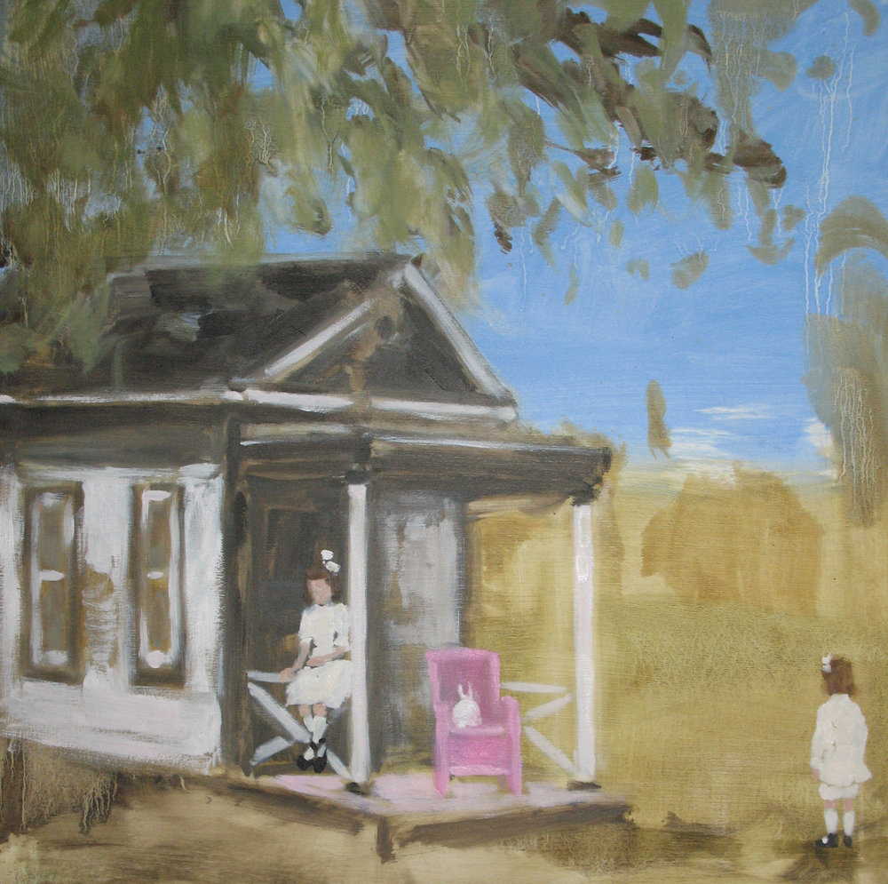 Painted Room (playhouse shy) 16 x 16 in. oil on panel 2008