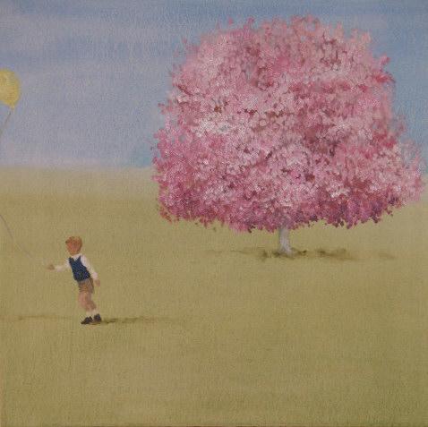 Window Seat (full breath), oil on canvas, 19[1].5 x 19.5 in., 2008.jpg