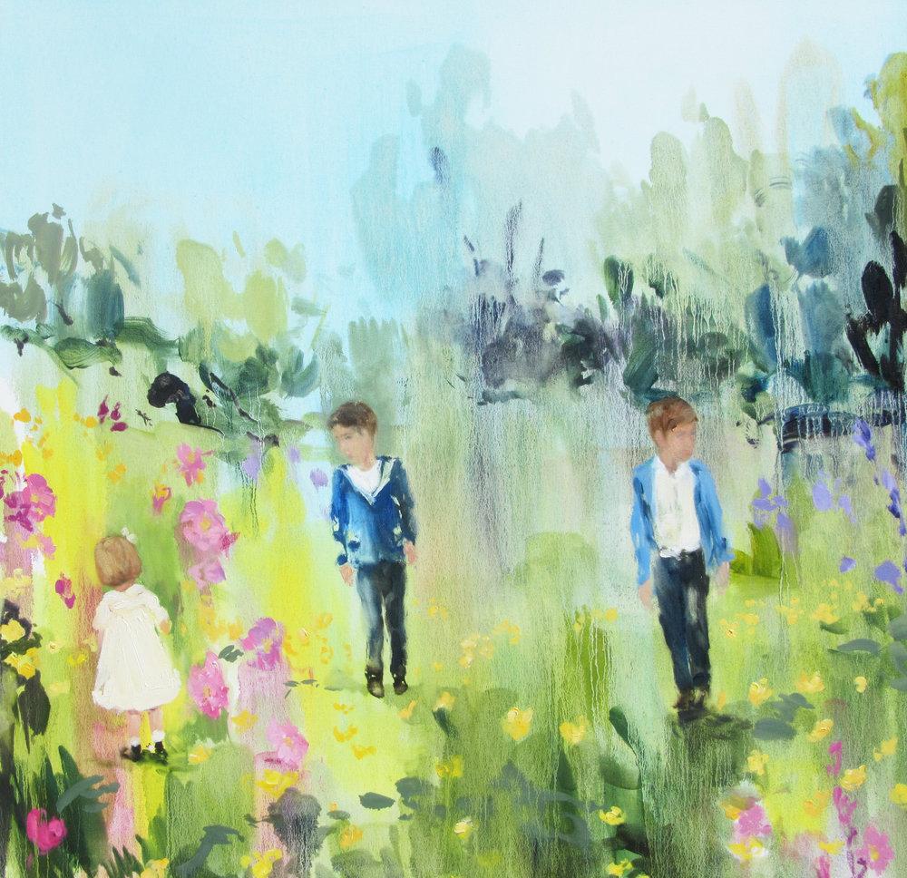Linen House wildflowers 36 x 36  2013.jpg