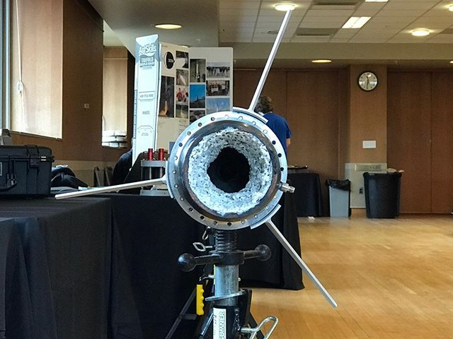 We were happy to be part of Purdue's #dawnordoom expo yesterday!  #rockets #spaceportamerica #spaceportamericacup @seds.usa #engineering #toasty