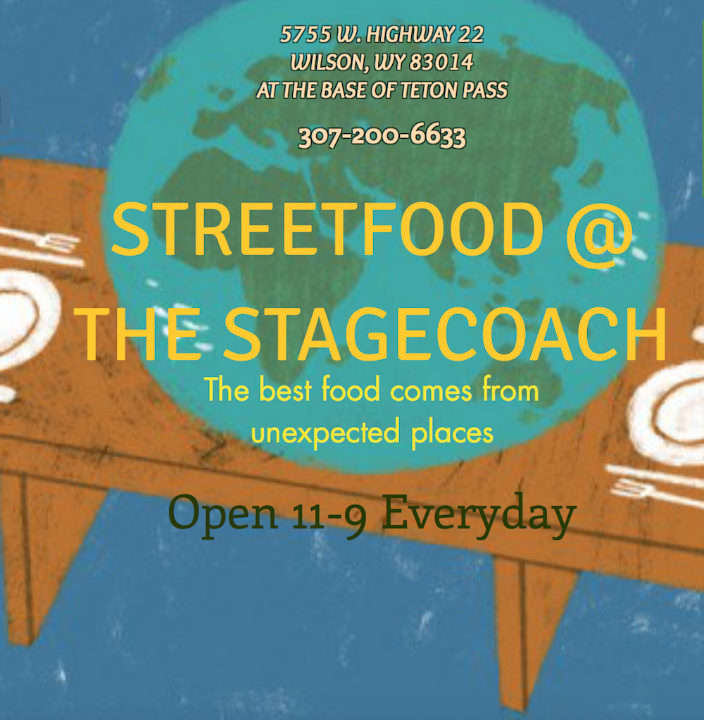 Streetfood at the Stagecoach