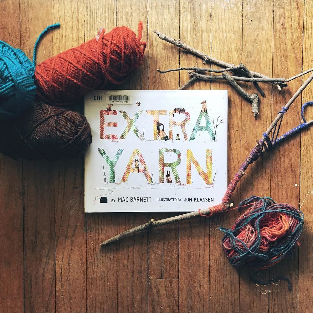 Extra Yarn  by Mac Barnett illustrated by Jon Klassen