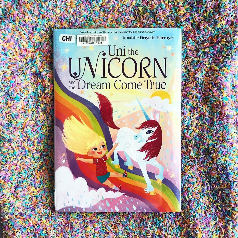 Uni the Unicorn  by Amy Krouse Rosenthal illustrated by Brigette Barrager