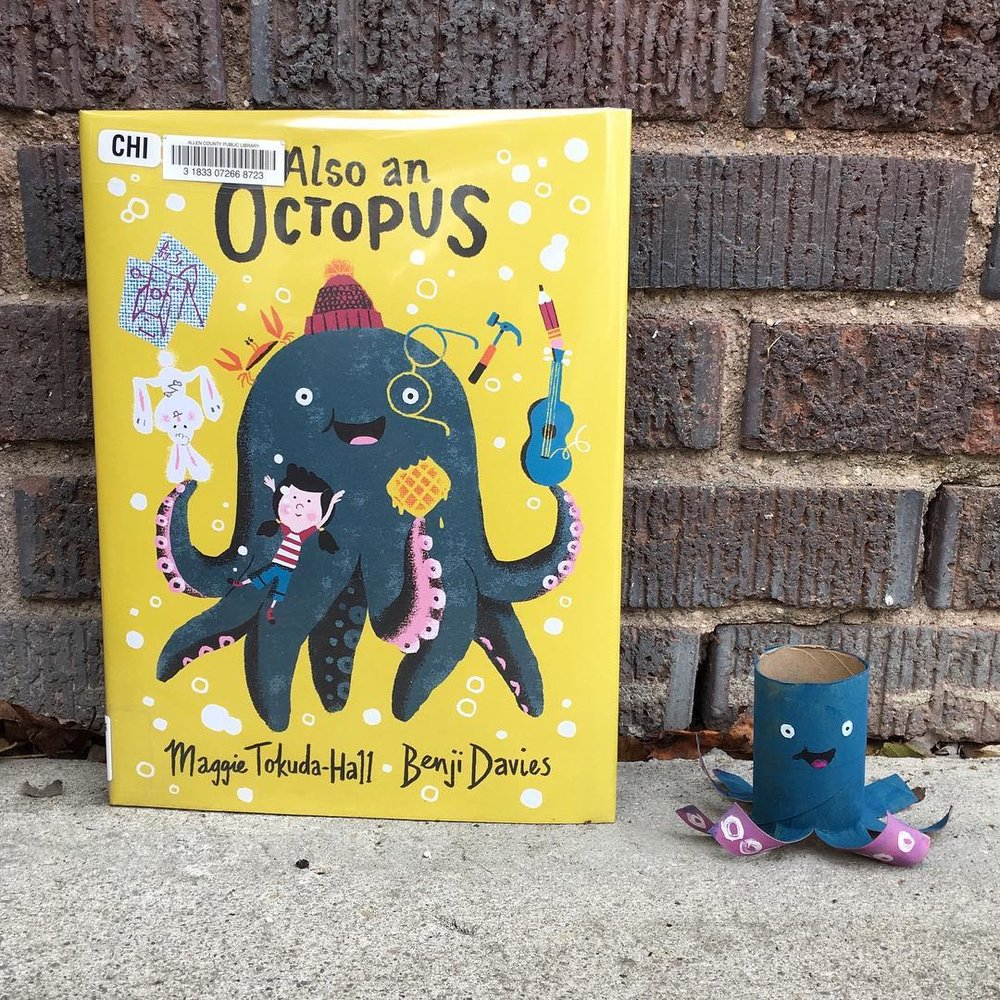Also an Octopus  by Maggie Tokuda-Hall and Benji Davies