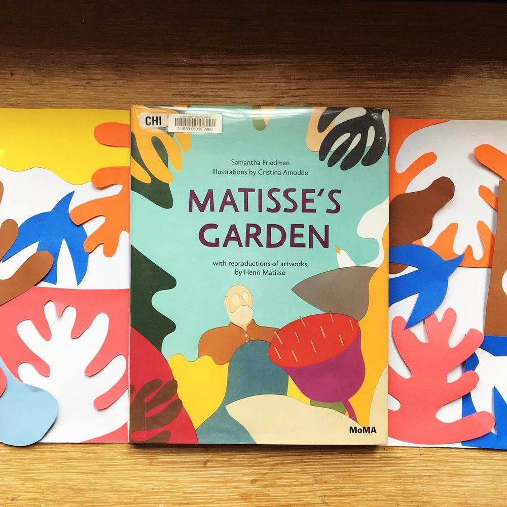Matisse's Garden by Samantha Friedman illustrations by Cristina Amodeo