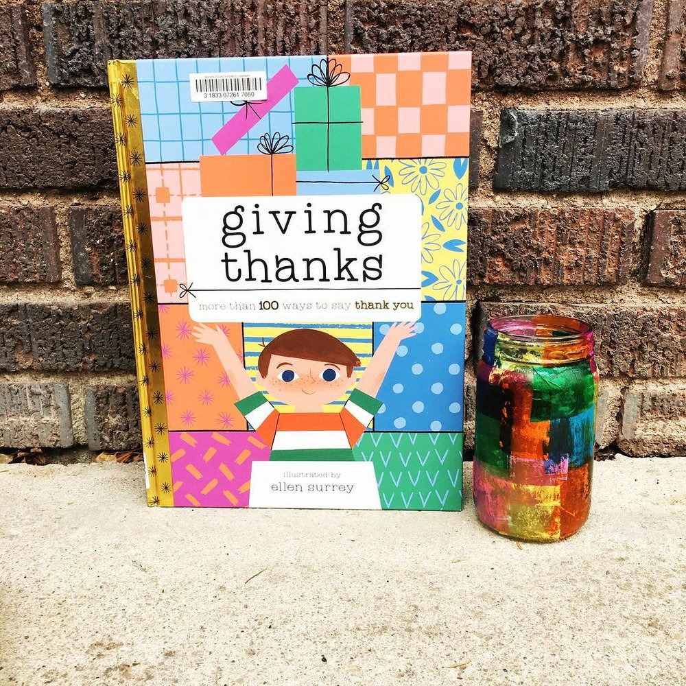 Giving Thanks  illustrated by Ellen Surrey  So many practical ideas and applications!