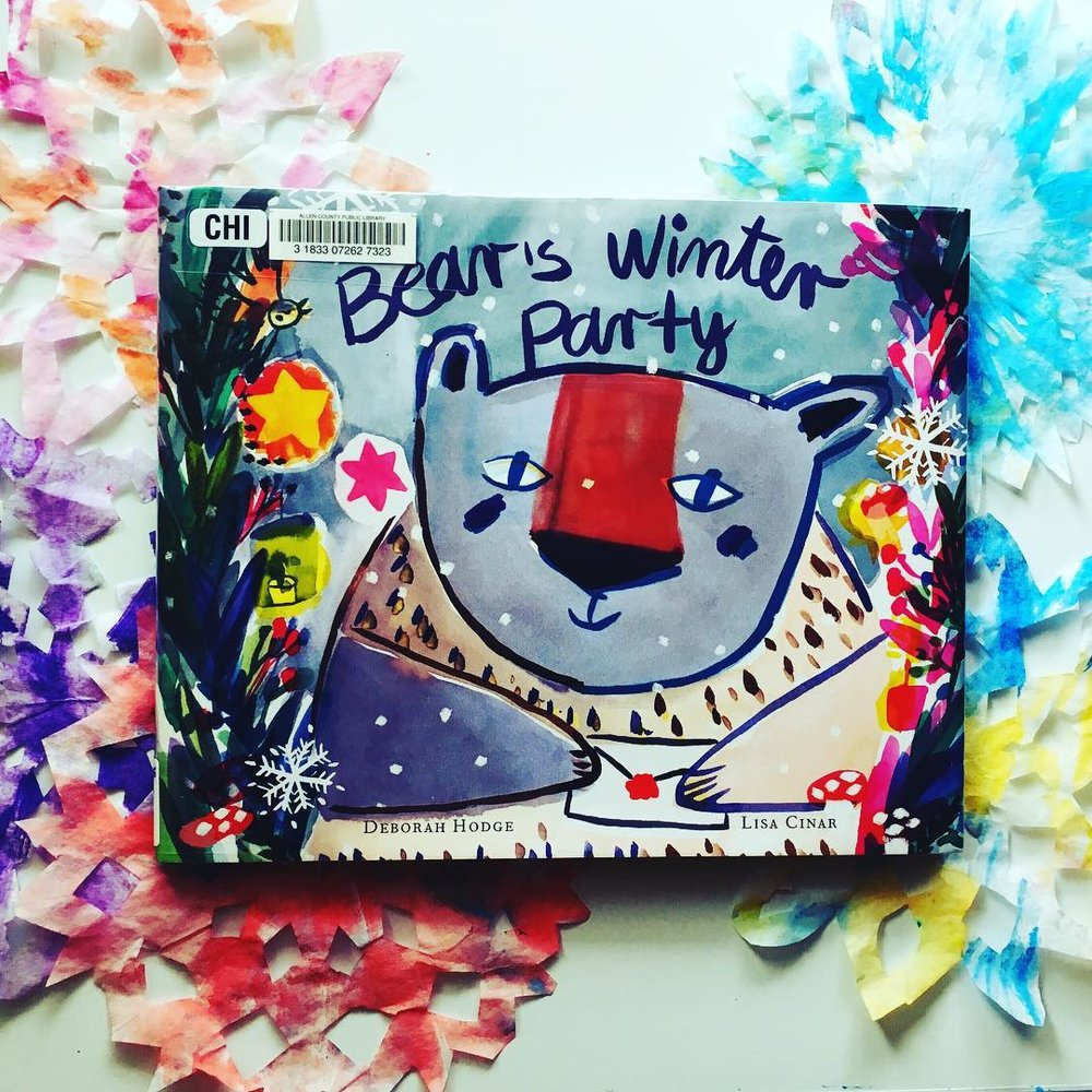 Bear's Winter Party  by Deborah Hodge and Lisa Cinar