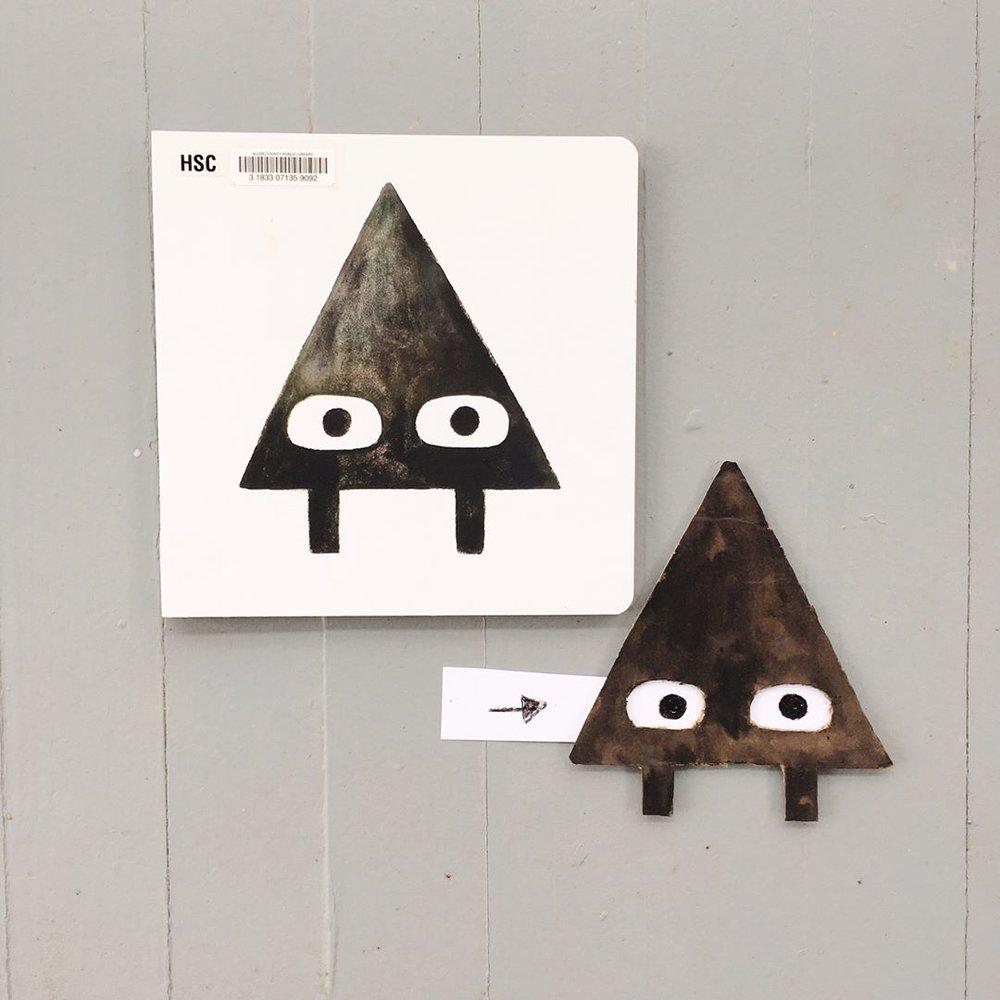 Triangle by Mac Barnett and Jon Klassen