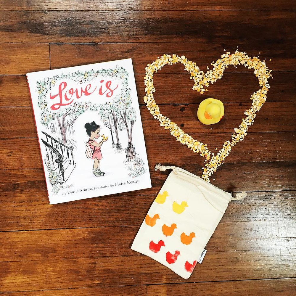 Love Is  by Diane Adams illustrated by Claire Keane