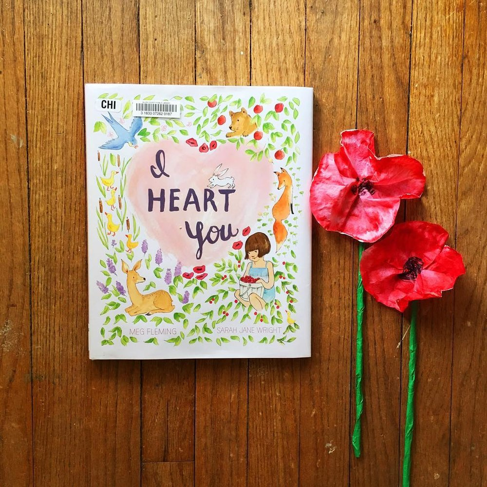 I Heart You  by Meg Fleming illustrated by Sarah Jane Wright