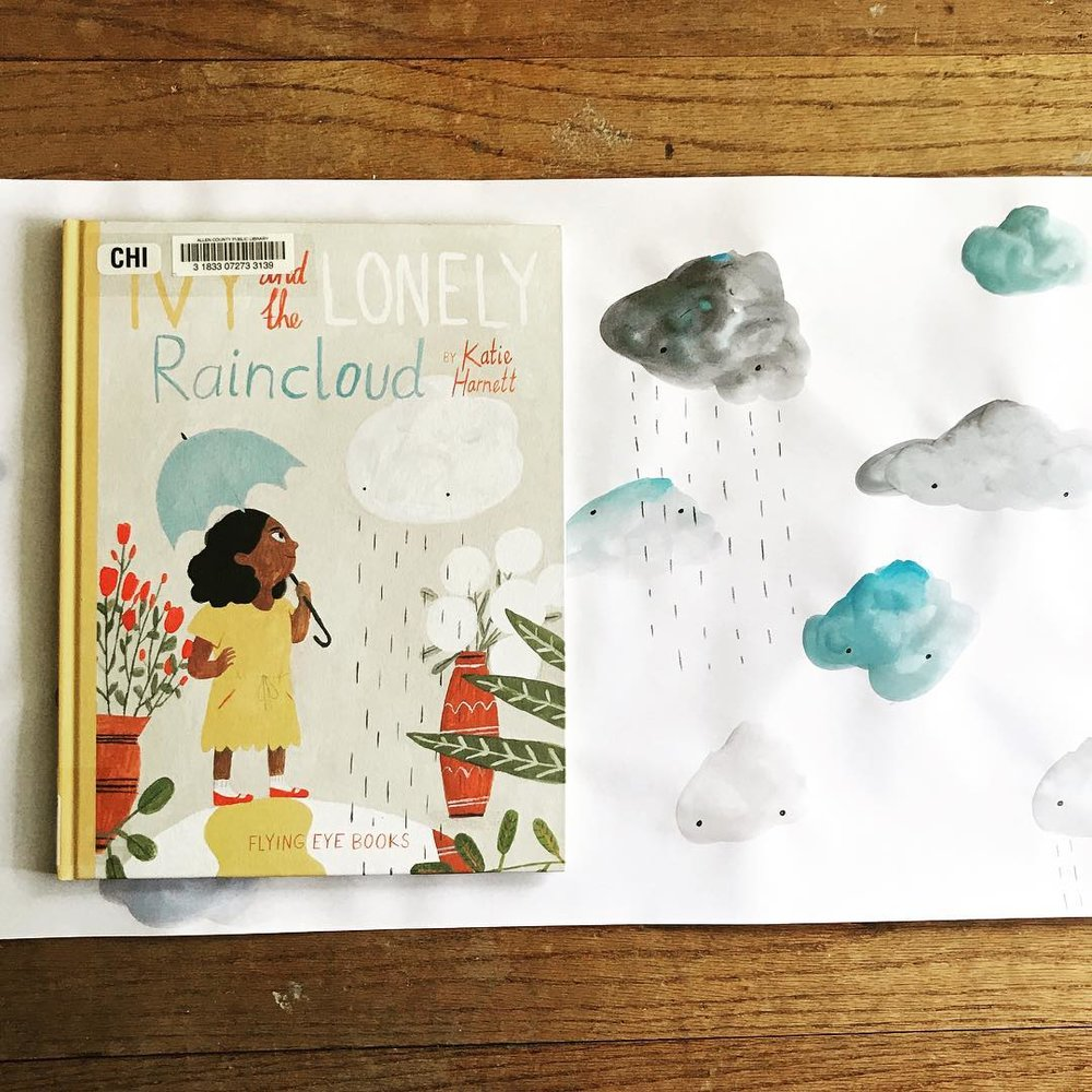Ivy and the Lonely Raincloud  by Katie Harnett  Explores loneliness and friendship