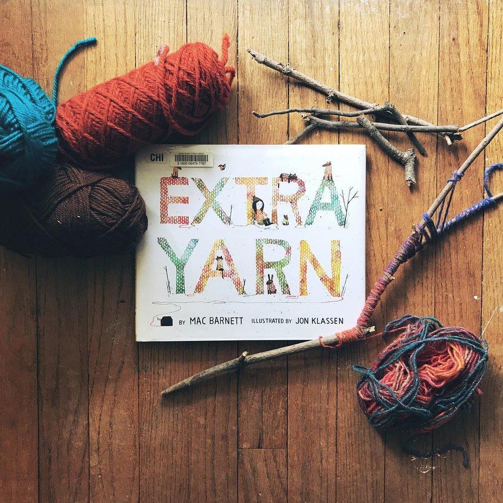 Extra Yarn by Mac Barnett illustrated by Jon Klassen