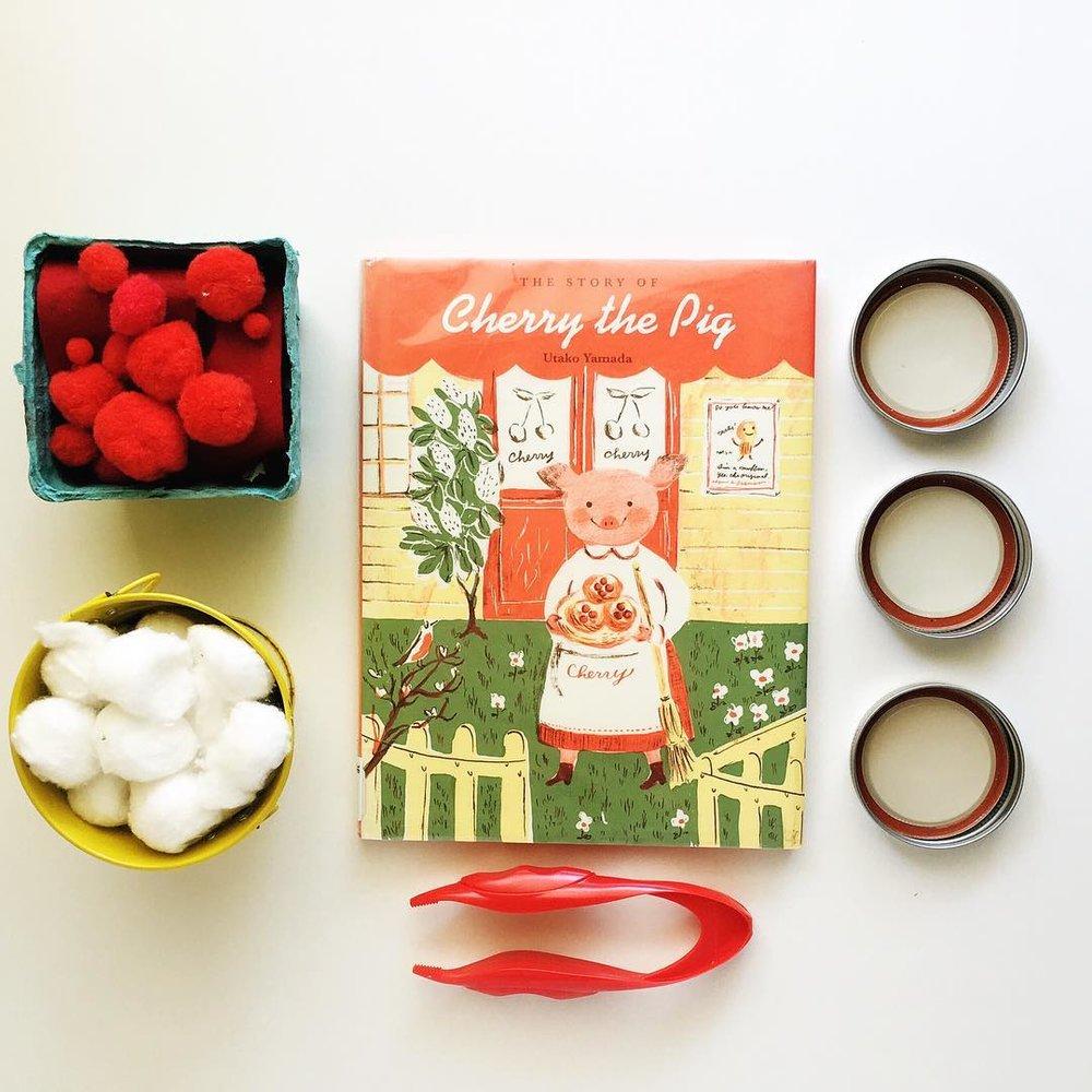 Cherry the Pig  by UtakoYamada