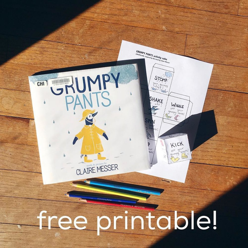 Grumpy Pants  by Claire Messer  A cute penguin shakes of the grumps!