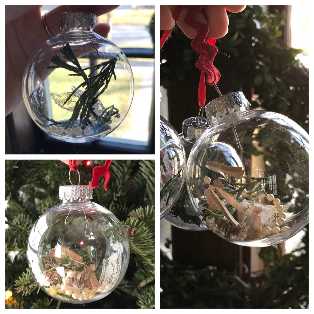 I just can't get over these ornaments! So beautiful every time!