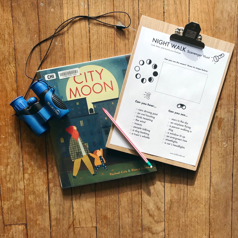 City Moon  by Rachel Cole & Blanca Gomez (Check  Crafts  for the free printable!)