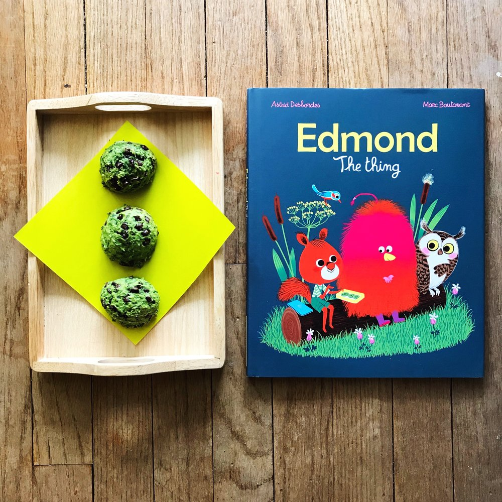 Edmond: The Thing  by Astrid Desbordes, illustrated by Marc Boutavant