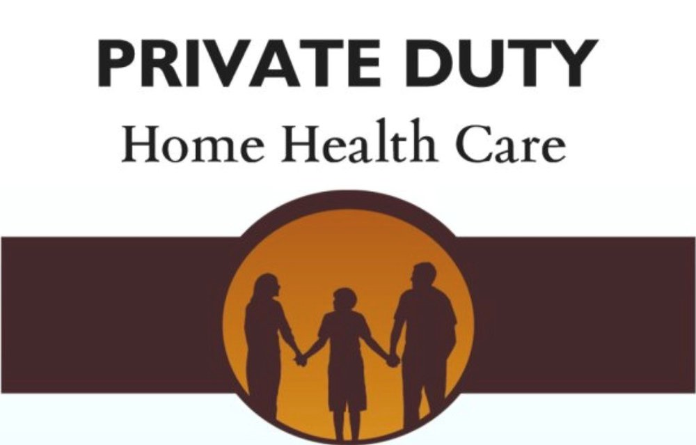 Home Health Care Private Duty Home Health Care   Keeping people at home is our specialty! Personal care support incontinence specialist and product supplier, dementia care, respite care relief, emotional, behavioural, social supports, restorative care and activation therapy, in home medical, and safety sales. We customize our care plans to you!  Holly Walker 1-506-471-7194 PrivateDutyHomeHealthCare@gmx.com