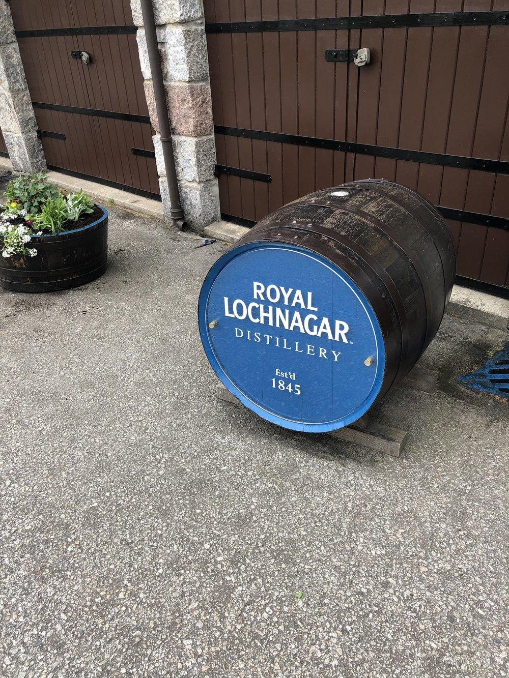 I also toured the Royal Lochnagar Distillery!