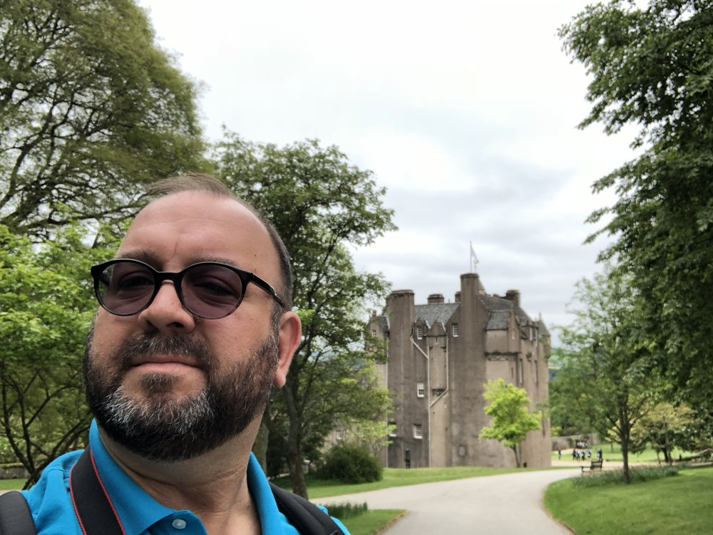 Roaming Rich at Crathes Castle.