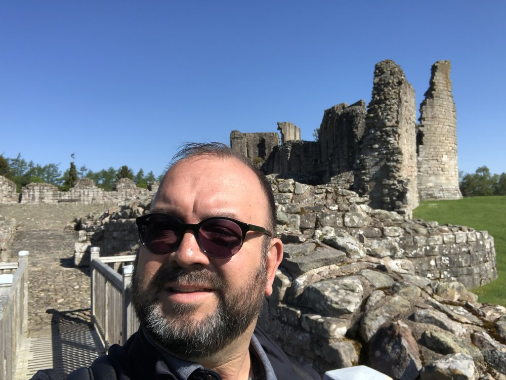 Roaming Rich at Kildrummy Castle