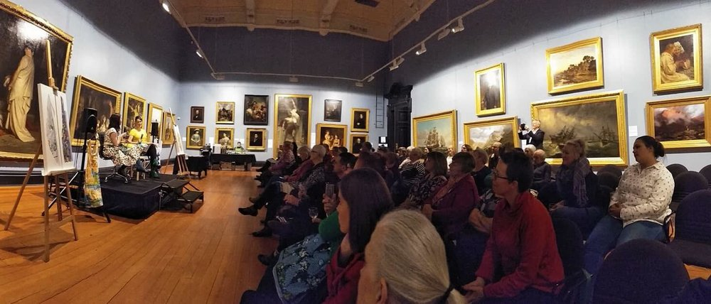 Artist Q&A at  The Art Gallery of Ballarat  - Photo by Christine Hickson