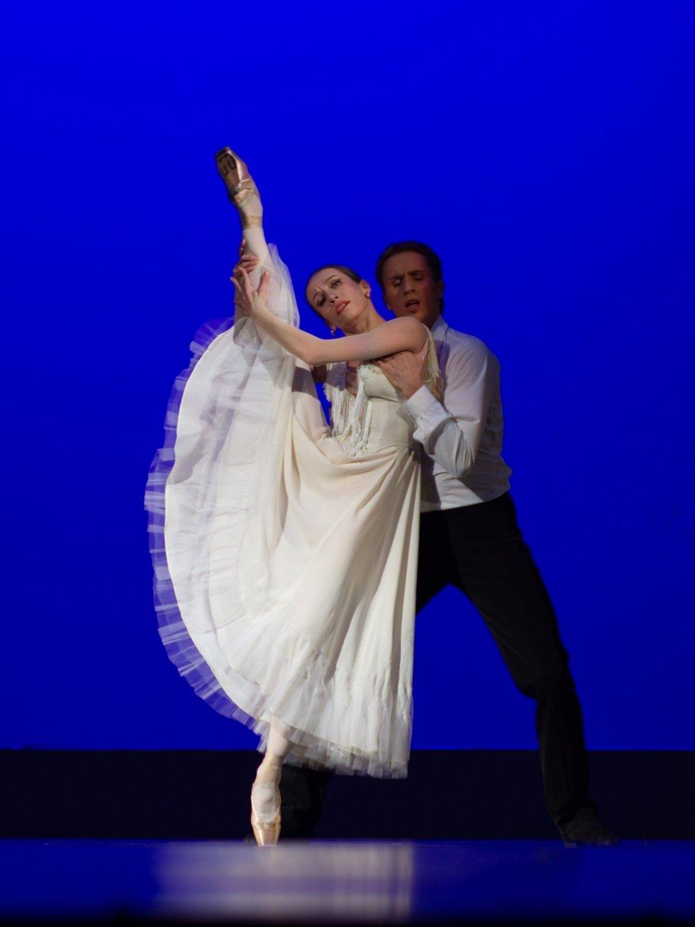 Marianna Ryzhkina, Bolshoi Ballet & Andrey Merkuriev, Bolshoi Ballet