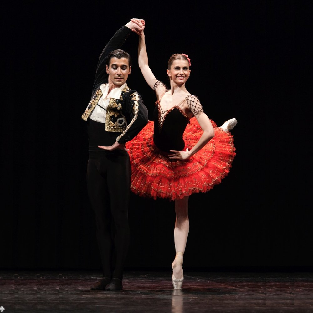 Alexanra Timofeeva and Mihkail Martinyuk, Ballet Stars and Principal Dancers of the Kremlin Ballet. Stars of Russian Ballet Gala in Montreal.